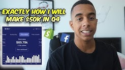 Make $50k+ This Q4 With Shopify Dropshipping + FB Ads! (Complete eCommerce Guide)