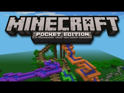 HUGE WATER PARK! - Minecraft Pocket Edition