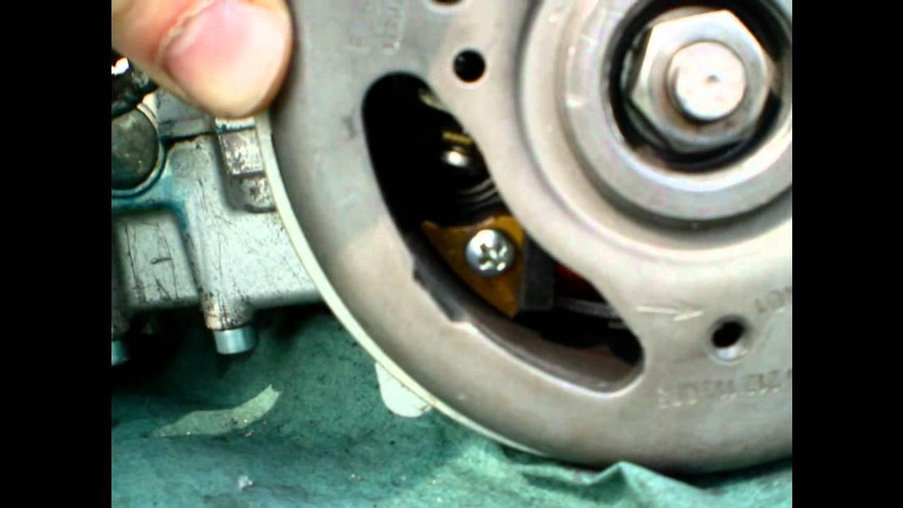 Zündung einstellen bei Sachs 505 Mofamotor - YouTube