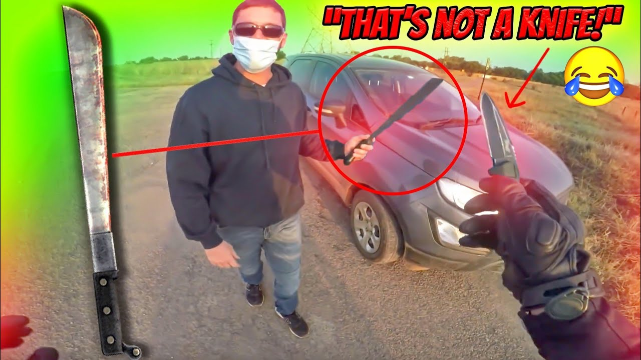 """""""THAT'S NOT A KNIFE... THIS... IS A KNIFE!!!"""" 