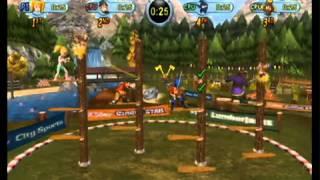 Go Play Lumberjacks Review Wii