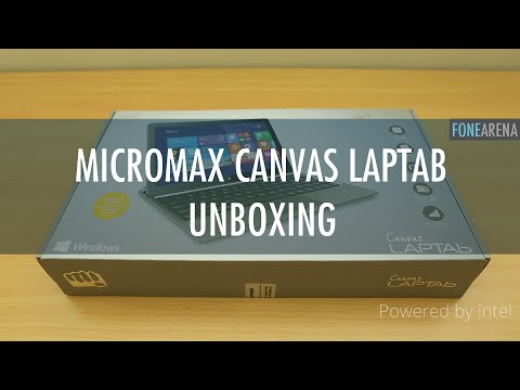Micromax Canvas Laptab Unboxing
