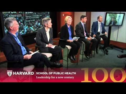 The Humanitarian Crisis in Syria | The Forum at HSPH