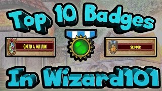 Top 10 Badges In Wizard101, Fishing Badges, Crafting Badges,  Whats The Best Badges In Game?