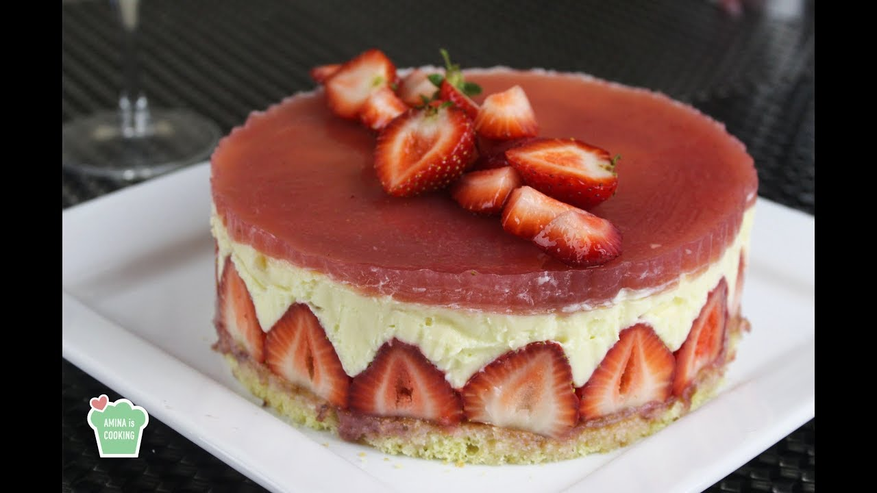Mary Berry Fraisier Cake Recipe