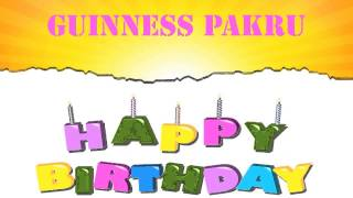 Guinness Pakru   Wishes & Mensajes - Happy Birthday