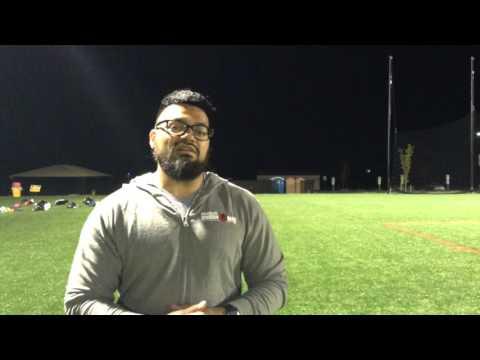Head Rugby Coach, Curt Gruber