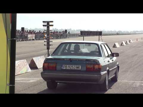 Audi 90 typ 85 2.2 Turbo 11.8 1/4 mile Madness Motorsport