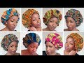 AFRICAN PRINT SATIN BONNET / Sleeping bonnets/ Bonnets for natural hair
