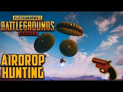 Pubg Mobile Flare Gun Airdrop Hunting Squad Serious Gameplay