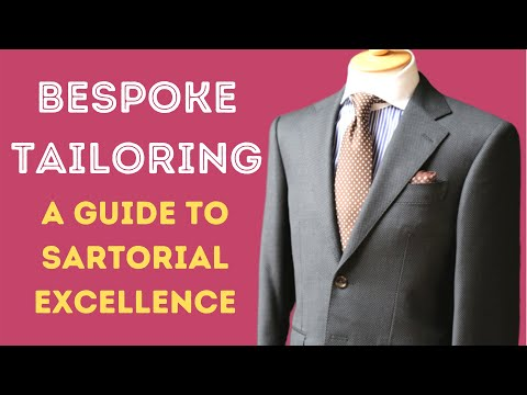 BESPOKE SUIT TAILORING - THE CHAP'S GUIDE TO SARTORIAL EXCELLENCE FROM INDIA