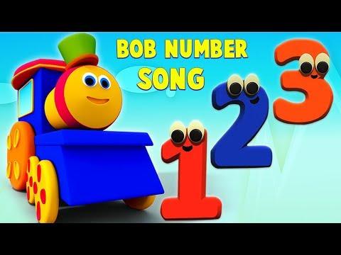 Bob Berhitung Nomor Melatih | Video Pendidikan | 3d Kartun Untuk Anak-anak | Counting Numbers