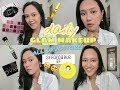 Daily Glam Makeup Tutorial on acne and oily skin  