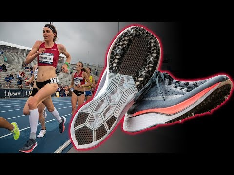 Custom Nike Vaporfly 4% with Spikes