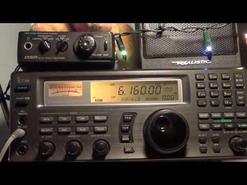 CKZN St John's Newfoundland Canada 6160 Khz on Icom IC R8500
