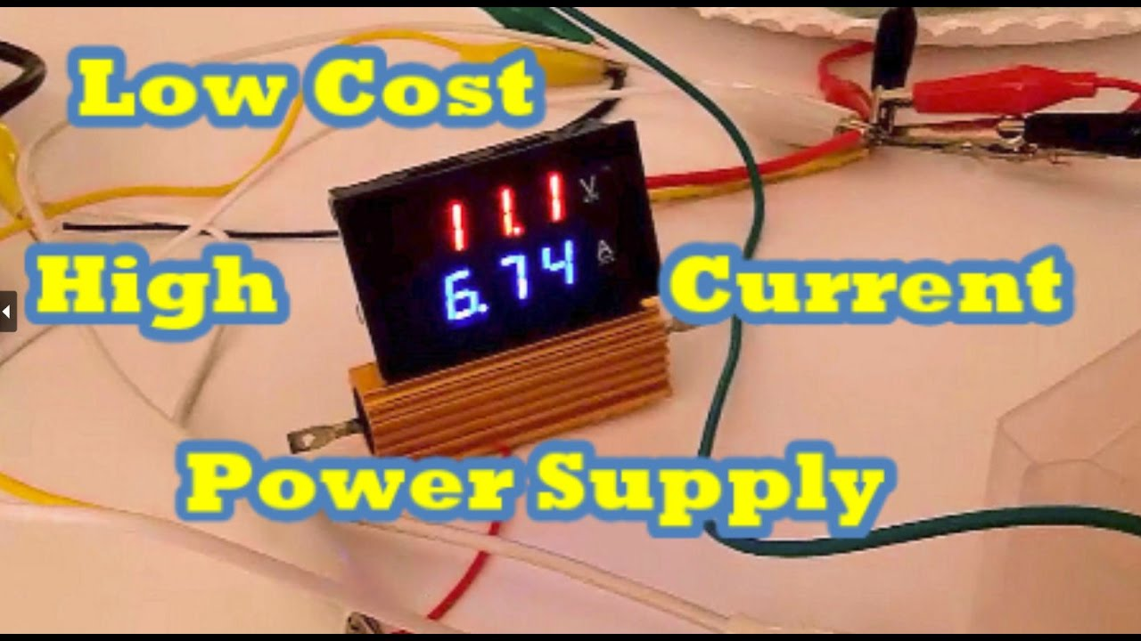 Build A Low Cost High Current Variable Power Supply Eye On Stuff How To Voltage And