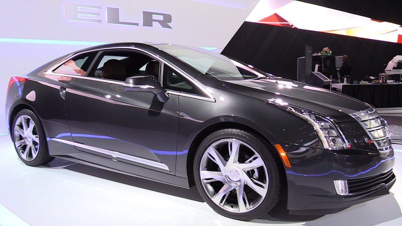 2016 Cadillac Elr Exterior And Interior Walkaround 2017 Detroit Auto Show