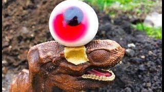 ОТДАЙ что украл! Вор Заурофаганакс против Тираннозавра с травоядным Трицератопсом. Выбирай Приз!