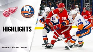 Detroit Red Wings vs New York Islanders | Feb.21, 2020 | Game Highlights | NHL 2019/20 | Обзор матча