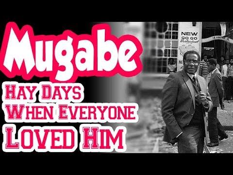 Mugabe Hay Days, When  Everyone Loved Him ❤️❤️✓✓✓✓