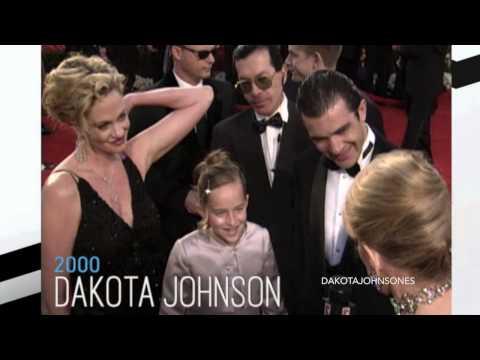 Dakota At The 72nd Academy Awards With Melanie And Antonio.