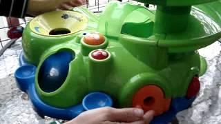 imaginarium juguete bebe espiral tobogan p pelotas didactic