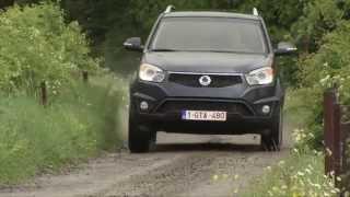 SsangYong Korando 2014 Videos