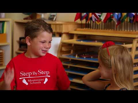 Discover the Difference at Step By Step Montessori Schools