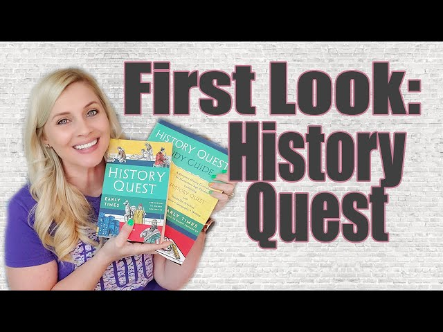 HISTORY QUEST FIRST LOOK | History Quest Early Times | Unboxing | Secular History Curriculum 2021