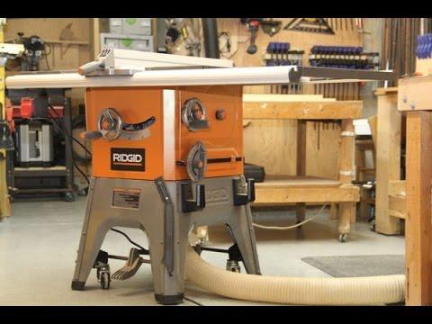 Ridgid 10-Inch 13 Amp Table Saw - Model R4512