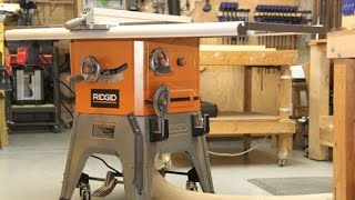 Ridgid 10-inch 13 Amp Table Saw - Model R4512