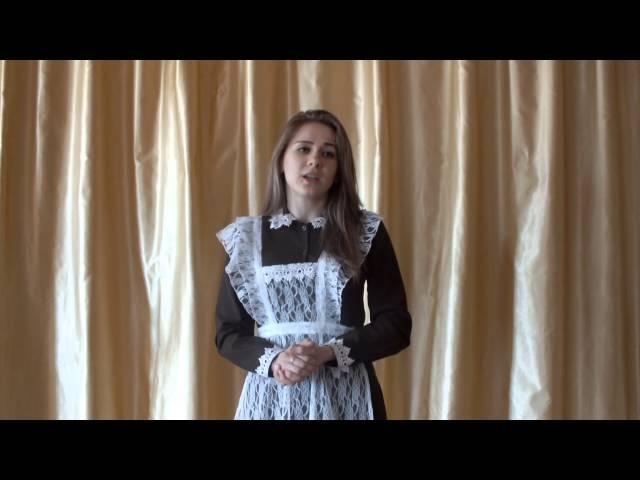 Изображение предпросмотра прочтения – ДинаЛедянкина читает произведение «Сонет № 130. Ее глаза на звезды не похожи…» У.Шекспира