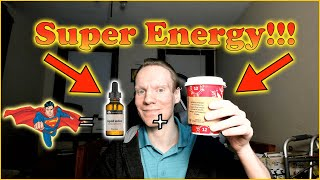 Super Energy from Coffee and Iodine!!!