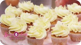 Pudding-Törtchen mit Äpfeln   Sweet & Easy - Enie backt   sixx