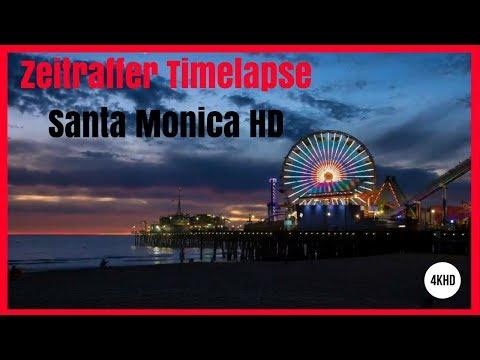 Zeitraffer Timelapse Santa Monica HD