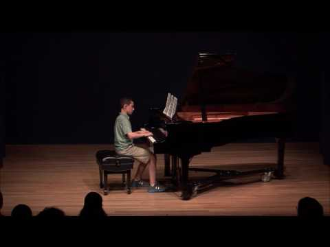 Lucas playing Beethoven at National Opera Center NYC
