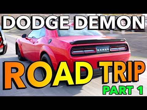 Dodge Demon Road Trip (Part 1): Royal Purple Raceway