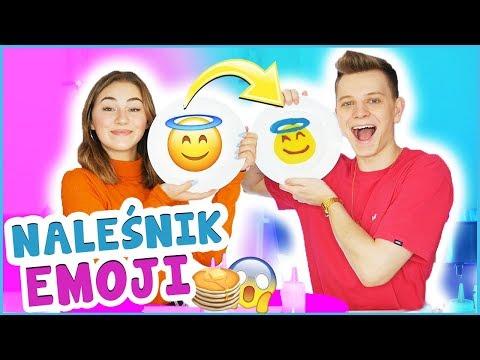 PANCAKE ART EMOJI CHALLENGE! 😱😍 | Dominik Rupiński & Lena Kociszewska