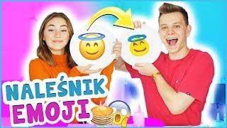 PANCAKE ART EMOJI CHALLENGE!  | Dominik Rupiński & Lena Kociszewska