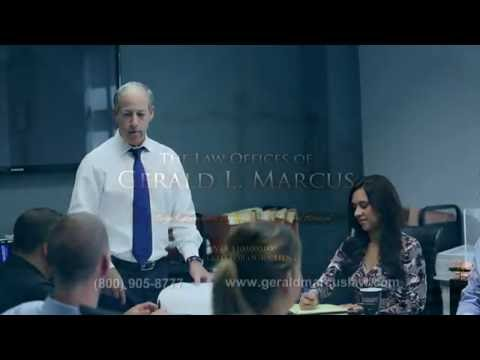 Los Angeles Injury Attorney- Gerald Marcus Law- Call 800-905-8777
