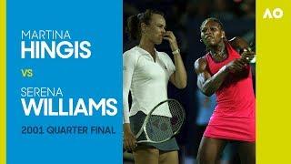 AO Classics: Martina Hingis v Serena Williams (2001 QF)