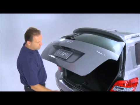 Mercedes Benz Instructional Video Setting Tailgate Height