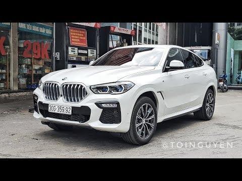 Siêu Phẩm BMW X6 2020 Lưới tản nhiệt phát sáng trên phố Hà Nội - 4,8 Tỷ đồng