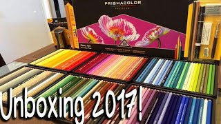 Unboxing and Opinions on Prismacolor 150 set - 2017 !! - Review of prismacolor 150 set