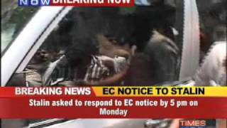EC notice to Tamil Nadu Dy CM