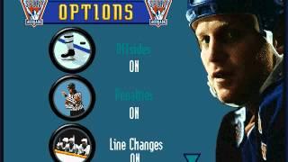 IE 14 PC games review - Brett Hull Hockey 95 (1995)