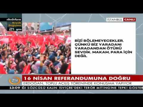 Cumhurbaşkanı Erdoğan: Türkiye Cumhuriyeti devletinden başka devletimiz yok
