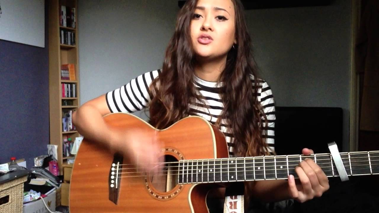 Chandelier by Sia - Acoustic Cover by Tina V - YouTube