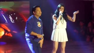 martin nievera and anne curtis - the mash up team first time on tv at it