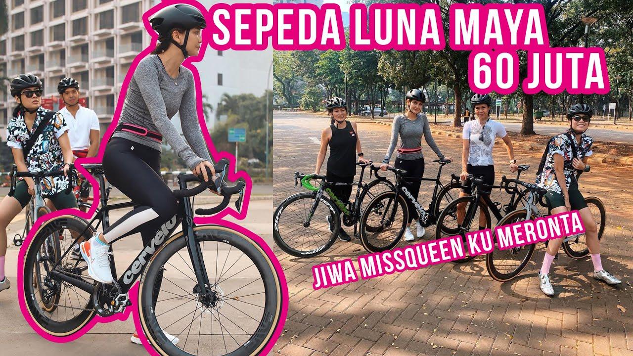 Luna Maya Gowes Sepeda Harga 60 Juta Youtube
